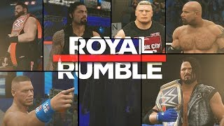 WWE 2K17 Royal Rumble 2017 Promo
