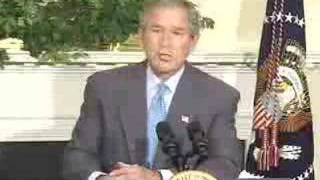 """President George W. Bush Says """"Bring 'em on"""""""