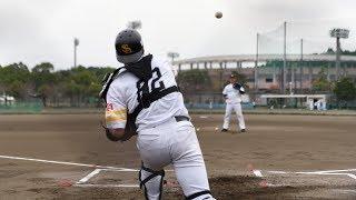 爆笑モノマネ「捕手練習」ホークス秋季キャンプ2017-1107