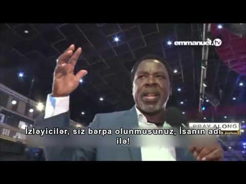 TB Coşua (Azərbaycan Dilində): İsanın adı ilə, bərpa olun!