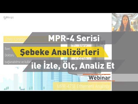 ENTES Webinar: MPR-4 Serisi Şebeke Analizörleri ile İzle, Ölç, Analiz Et