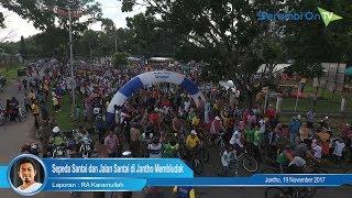 Sepeda Santai dan Jalan Santai di Jantho Membludak