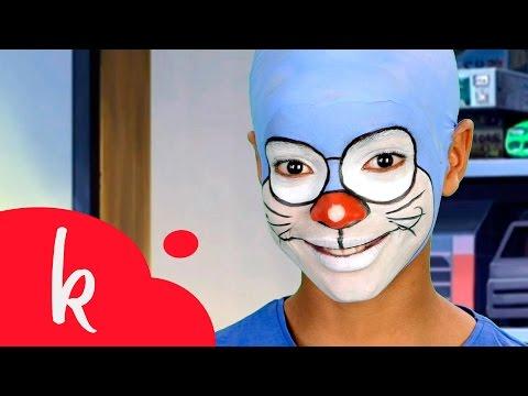 Maquillaje Doraemon | Paso a paso | Makeup Tutorial