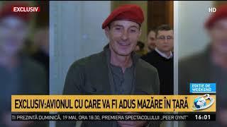 Avionul Cu Care Va Fi Adus Radu Mazăre în țară