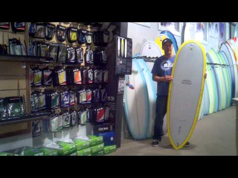 Takayama Scorpion Surfboard Video Review