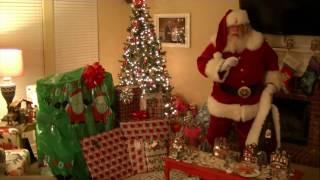 Santa Caught on Santa Cam!