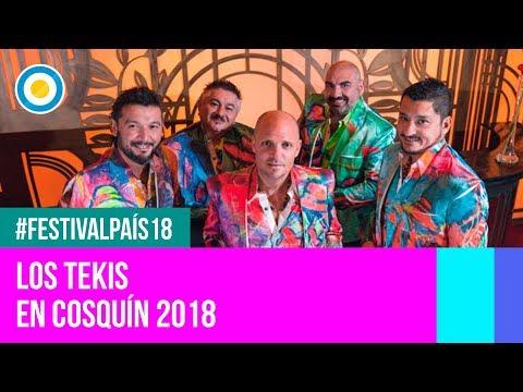 Video: La fiebre carnavalera de Los Tekis en la quinta luna de Cosquín 2018
