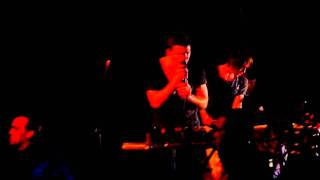 Fenech-Soler - Golden Sun - live at Free Form Festival in Warsaw - Saturday - 15.10.2011