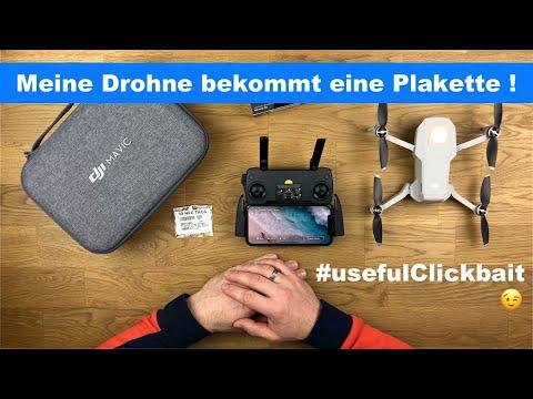 Meine Mavic Mini braucht eine Plakette! 1€ Automation mit NFC Shortcuts+ DJI Smartphone App -deutsch