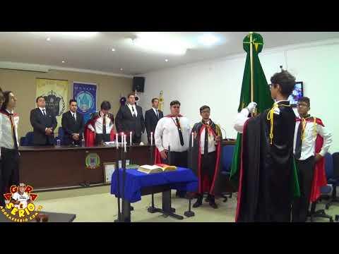 A Ordem Demolay faz Apresentação para a Maçonaria de Juquitiba