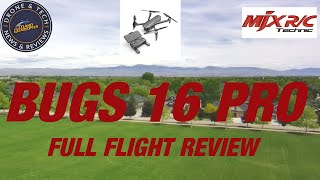 MJX Bugs 16 Pro Complete Flight Test And Review