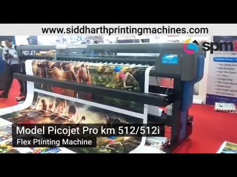 KM512i Pico Jet Pro Flex Printing Machine