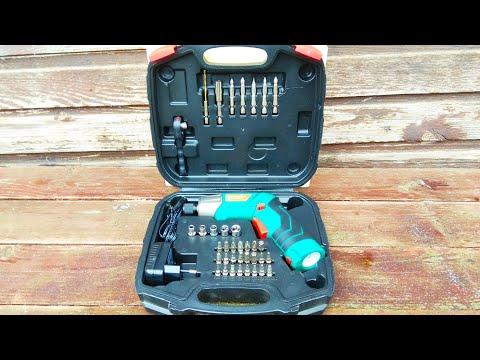 Электрическая аккумуляторная отвёртка HYCHIKA / HYCHIKA Cordless Electric Screwdriver
