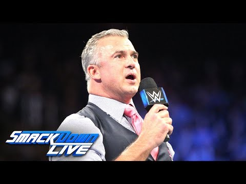 Shane McMahon addresses the WWE World Cup: SmackDown LIVE, Oct. 23, 2018