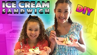 Ice Cream Sandwiches Cake (Haschak Sisters)