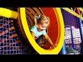 Little Diana in the amusement park
