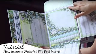 Easy Steps to Adding Flip Fold Inserts E and F Into Your Flipfold Albums!