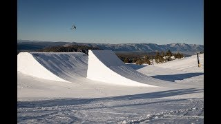 Behind the Scenes: 120' Ski Jump in Mammoth with Level 1 Productions