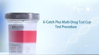 Bioeasy U-Catch Plus Multi Drug Test Cup Test Procedure