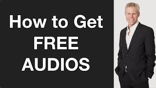How To Get Free Audios