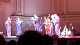Calico Train written by Steve Martin and The Steep Canyon Rangers Carnegie Hall NYC