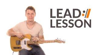 Marvelous Light - Charlie Hall // Lead Guitar Tutorial