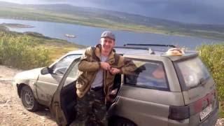 Поездка на п-ов Рыбачий на ВАЗ 2111