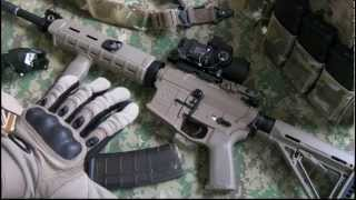 preview picture of video 'Magpul x G&P - MOE Custom Mid-Length M4'