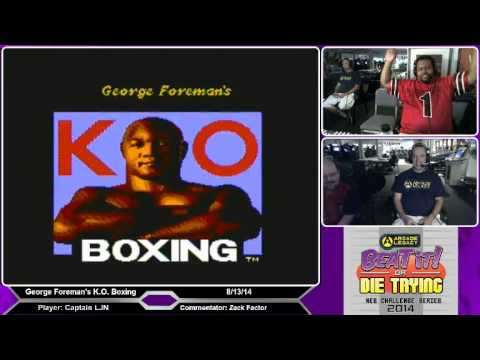 Beat it or Die Trying: Episode 83 Part 4 - George Foreman's KO Boxing