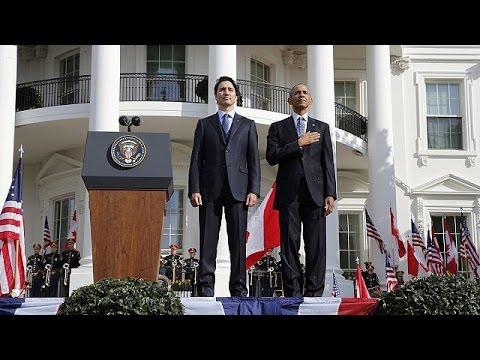 ΗΠΑ: Iστορική επίσκεψη του Καναδού πρωθυπουργού