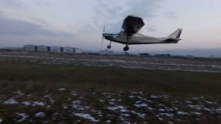 First flight of the new 2 seater Atairon / VIP (20 December, 2017) Light Sport Aircraft