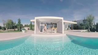 Gibus - 360° Bioclimatic pergola Med Varia