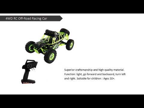 Costway 1:12 4WD RC Off-Road Racing Car Radio Remote Control Rock Crawler Truck