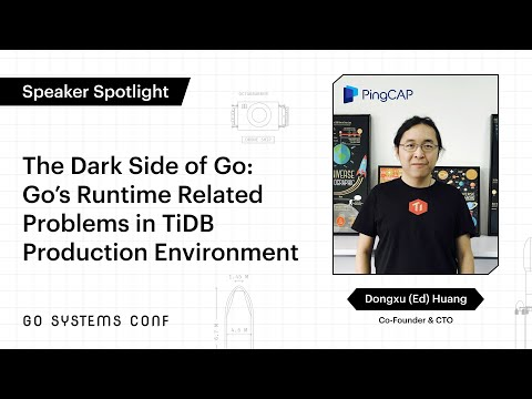 Image thumbnail for talk Go's Runtime Related Problems in TiDB Production Environment
