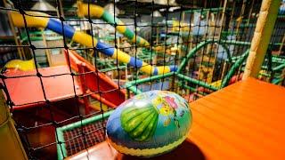 Surprise Egg Hunt at Busfabriken Indoor Playground (Easter egg hunt / toy hunt)