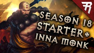 Diablo 3 Season 18 Monk Starter & Inna build guide - Patch 2.6.6 (Beginner)