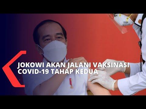 Presiden Jokowi akan Jalani Vaksinasi Covid-19 Tahap Kedua pada Hari Ini, Rabu 27 Januari 2021