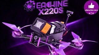 ✔ Обзор Eachine Wizard X220S - Отличный Готовый FPV квадрокоптер, Осень 2017! Banggood