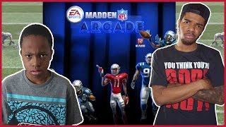 THEY ARE GOING AT IT!! - Madden Arcade Gameplay | #ThrowbackThursday ft. Trent