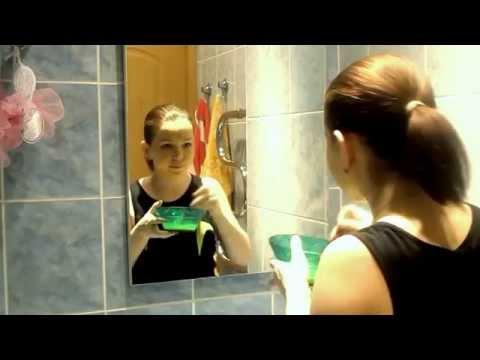 Маска для лица в сухой бане