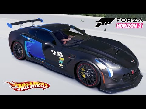 Hot Wheels Carro Jackson Storm do Filme Carros 3 - Forza Horizon 3