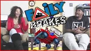 DRIVING WITH NO BRAKES!! - Faily Brakes | Mobile Series Ep.7