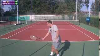 preview picture of video 'Christophe (15) vs Didier (3/6) - 4e tour Mesnil St Denis - Match - 17/09/2012'