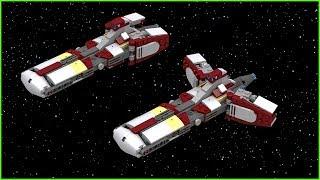 Star Wars LEGO Pelta Class Frigate   Micro