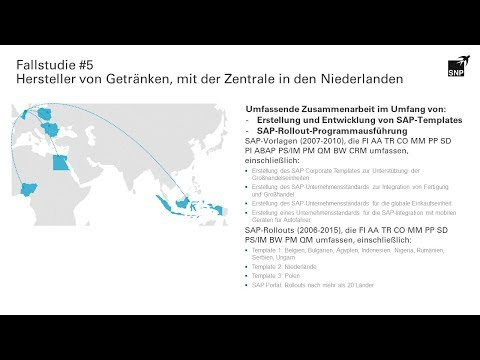 SAP Templates und Rollouts von SNP. Getting Things Done.