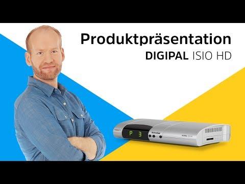 DIGIPAL ISIO HD | DVB-T2 HD Receiver mit Aufnahme- und Internetfunktion | TechniSat