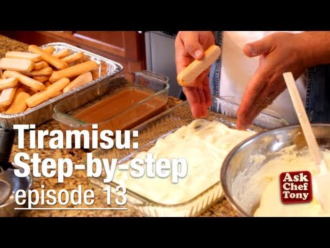 Tiramisu Recipe Video, Classic, Easy, Authentic – as taught by an Italian!, How to Make it