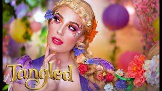 DISNEYS TANGLED RAPUNZEL | Halloween Makeup Tutorial | Victoria Lyn