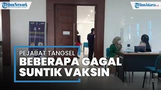Darah Tinggi saat Screening Vakisnasi Covid-19, Sekretaris DPRD Tangsel Baca Doa Qunut: Biar Turun