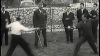 Дуэль Лифаря и маркиза де Куэваса